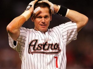 Craig Biggio received 68.2% of the vote in his first try on the Hall of Fame ballot.