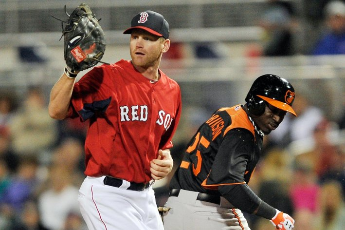 MLB: Spring Training-Baltimore Orioles at Boston Red Sox
