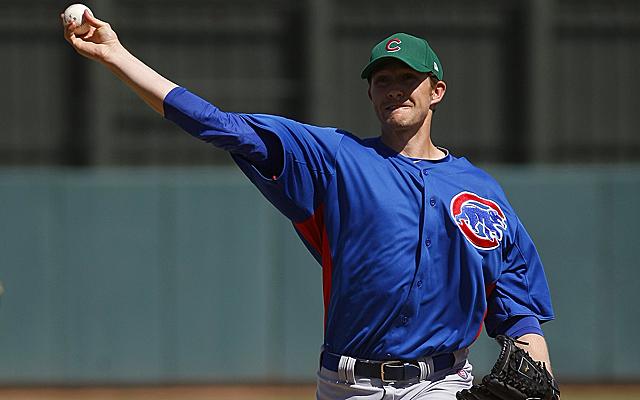 MLB: Spring Training-Chicago Cubs at Oakland Athletics