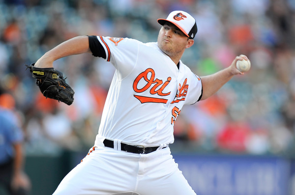 Orioles Pitcher Zach Britton has a Ruptured Achilles
