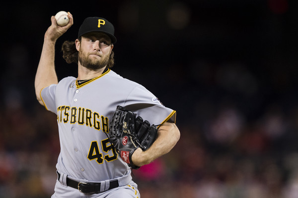Astros acquire Pittsburgh Pirates pitcher Gerrit Cole in trade