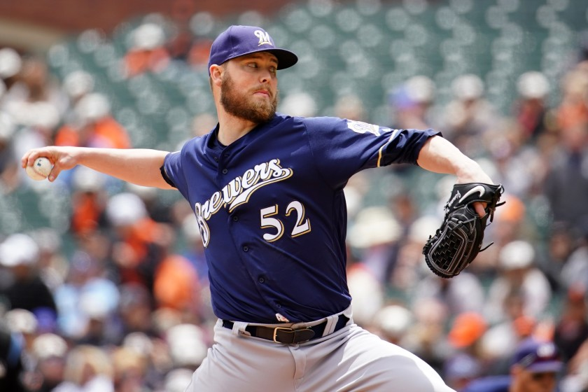 Dodgers sign Jimmy Nelson to 1-year deal