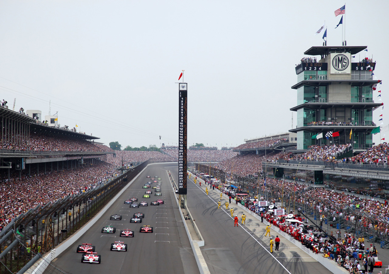 Image of the Indianapolis 500.