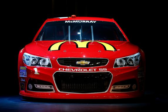 2012 Vegas Chevy SS Jamie McMurray No 1