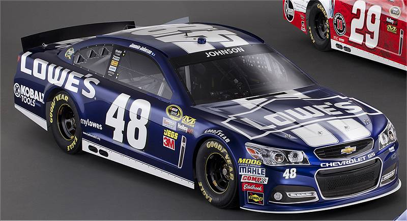 Jimmie Johnson Chevy >> Photos Jimmie Johnson Chevrolet Ss 2013 Paint Schemes Tireball
