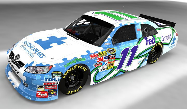 Nascar Drivers To Place Autism Puzzle Decal On Cars At