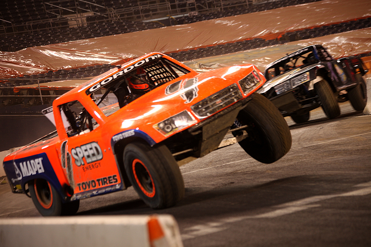 Robby Gordon wins Round 5 of Stadium Super Trucks ...