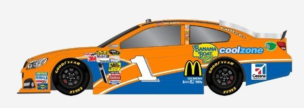Jamie McMurray to have Banana Boat paint scheme at Pocono