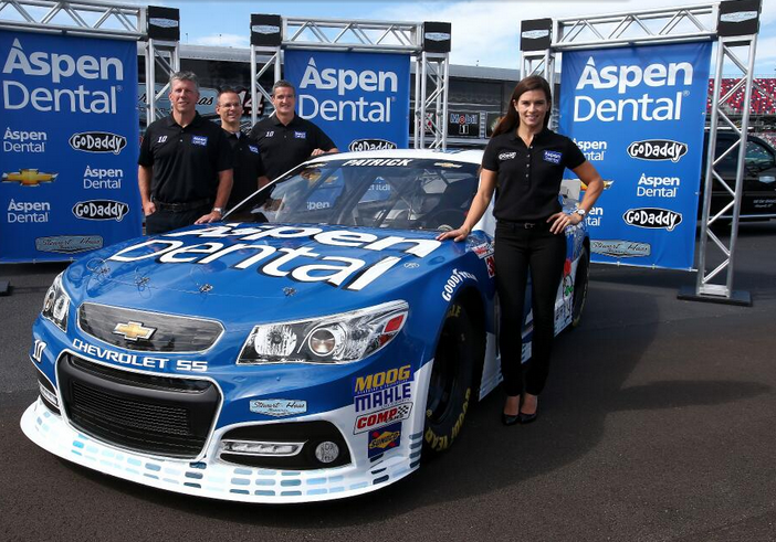 danica patrick gets new sponsor for 2014 in aspen dental