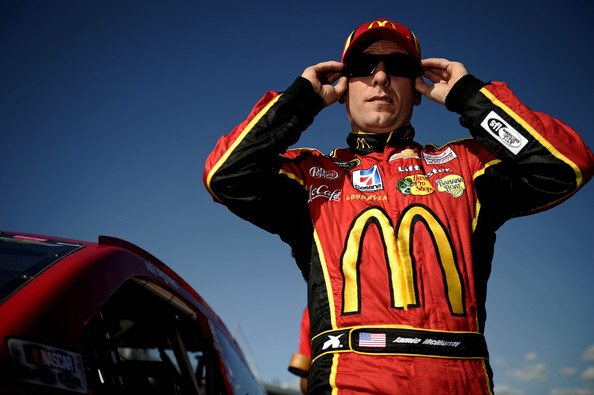 Jamie McMurray during the 2013 NASCAR season