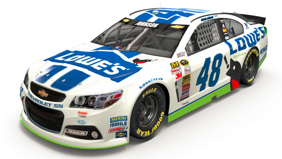 photo of Jimmie Johnson Chevrolet SS 2014 - car