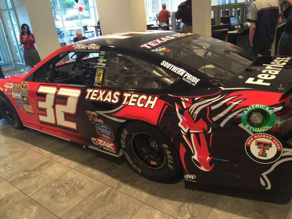 Mike Bliss To Drive Texas Tech Themed Car At Texas Motor