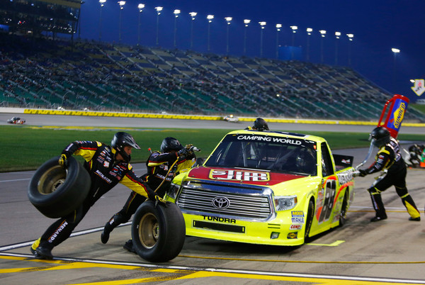 Matt Crafton Wins Truck Series Race At Kansas Full Results For