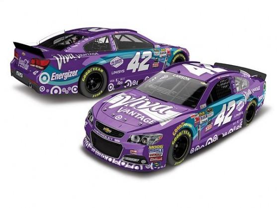 Kyle Larson to drive purple Viva Vantage car at Sonoma ...