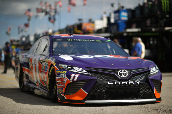 Truex makes final championship push with top practice speed