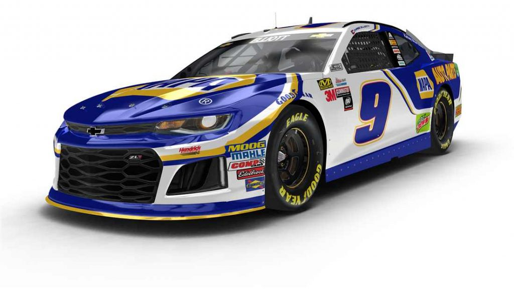 What Car Will Chase Elliott Drive In