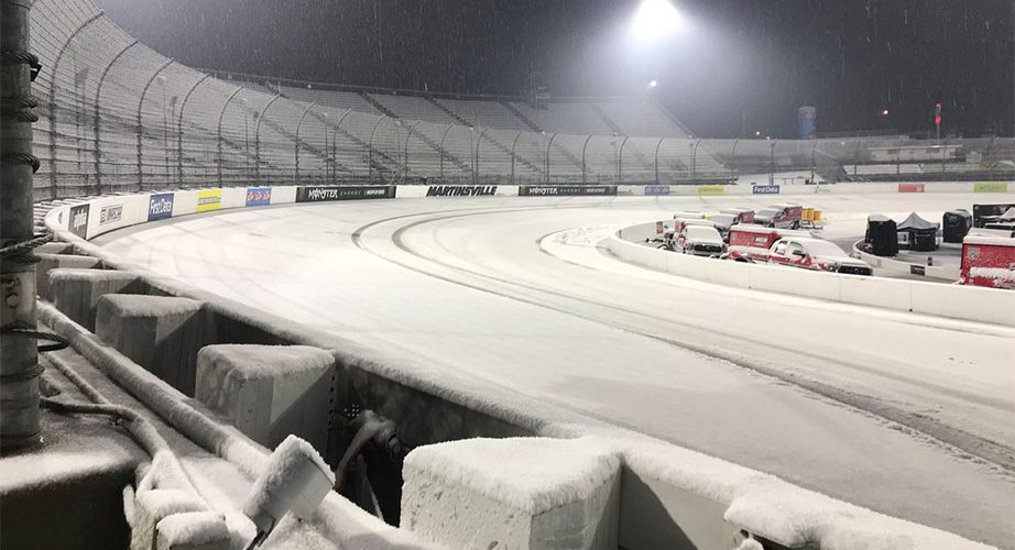 Truck series race, Cup qualifying at Martinsville washed out by weather
