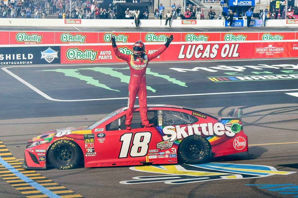 Kyle Busch Completes Weekend Sweep in Phoenix by Winning TicketGuardian 500