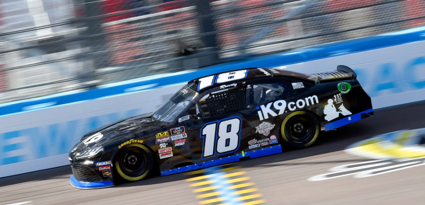 Kyle Busch won Saturday's Xfinity Series race at Texas Motor Speedway.
