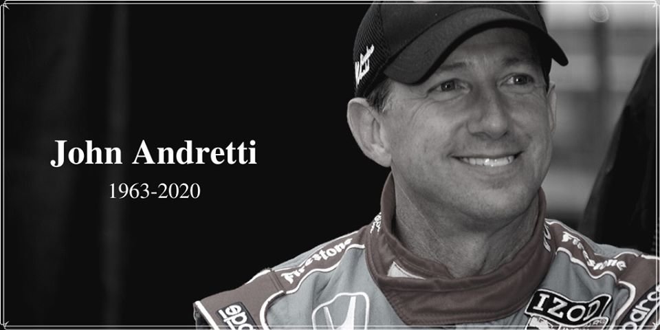 NASCAR Driver John Andretti Dead At 56 After Colon Cancer Battle