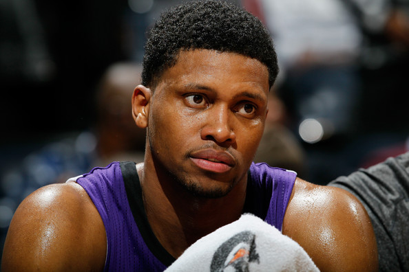 Rudy Gay with the Sacramento Kings