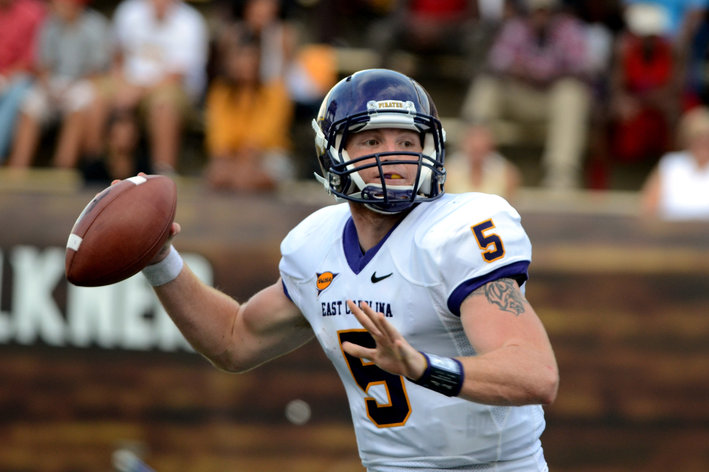 NCAA Football: East Carolina at Southern Mississippi