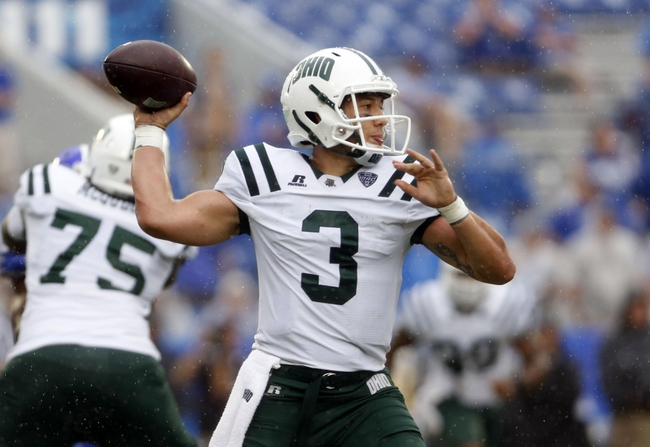 NCAA Football: Ohio at Kentucky