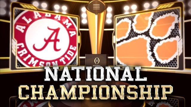 score of national championship game college fb lines