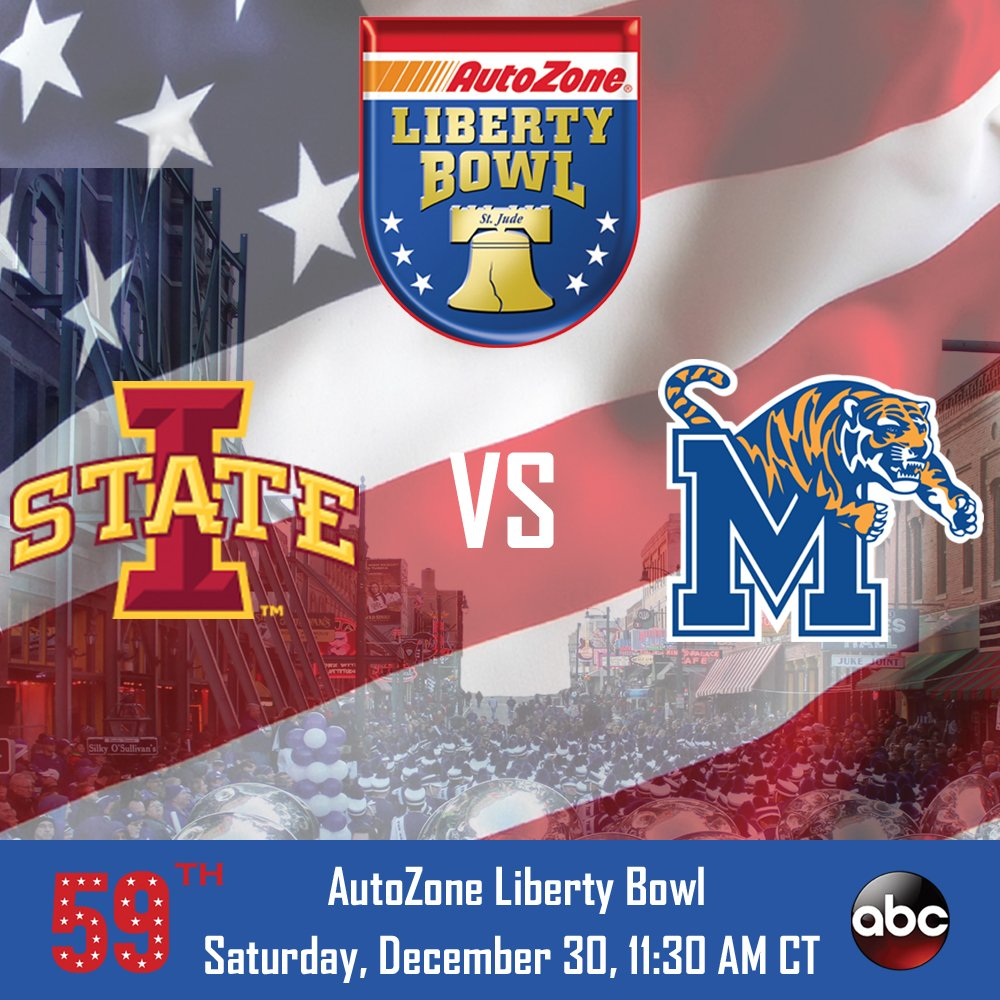 Iowa State Narrowly Holds off Memphis for Liberty Bowl Win