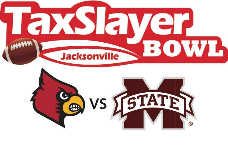 No. 23 Mississippi State vs. Louisville in TaxSlayer Bowl