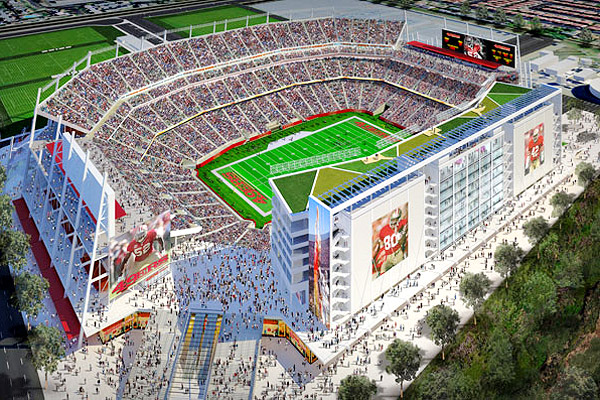 rendering of 49ers future stadium (credit: 49ers)