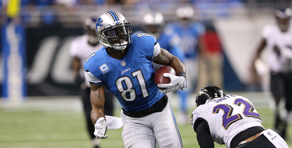 Calvin Johnson could miss game against Giants?