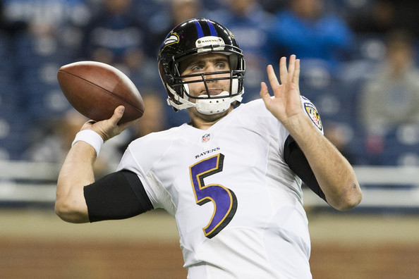 Joe Flacco is ok after knee scare