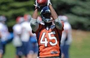 Denver Broncos OTAs at Dove Valley