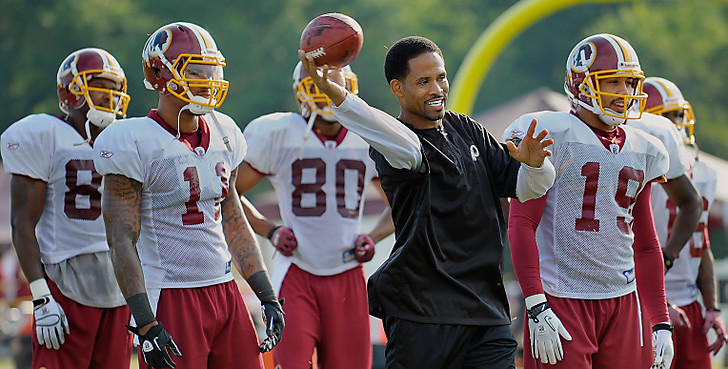 The Washington Redskins conduct summer training camp
