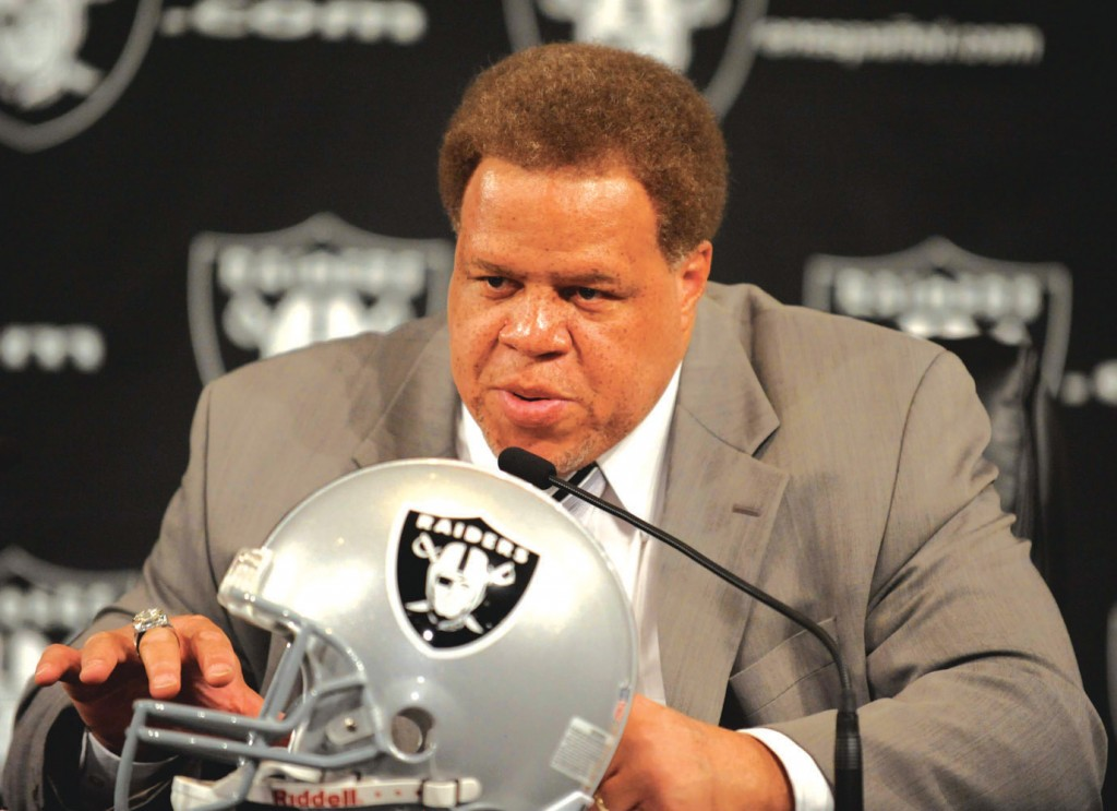 NFL: Oakland Raiders-Reggie McKenzie Press Conference