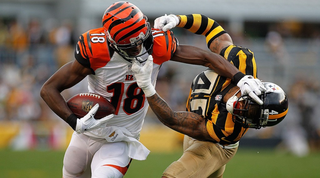 ... foes face off against one another in the Wild Card round of the AFC  Playoffs when the Pittsburgh Steelers travel to take on the Cincinnati  Bengals. 483f4323b