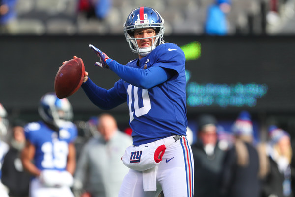 Manning OK with Giants drafting QB