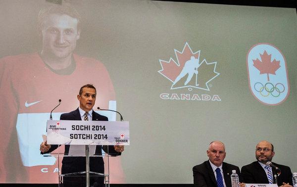 Steve Yzerman announces Canada's roster