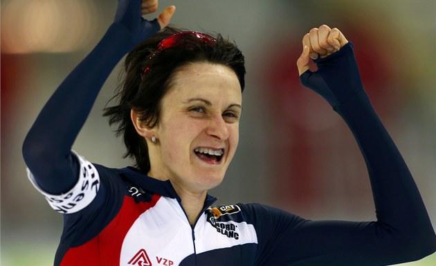 Martina Sablikova wins Women's 5000 m, Full Olympic Speed ...