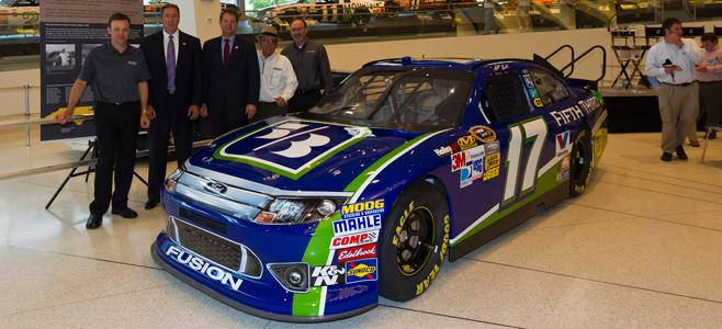 Matt Kenseth and the new Fifth Third Bank scheme