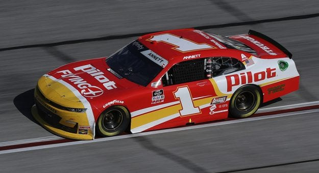 Michael Annett's car during the 2021 Xfinity Series season
